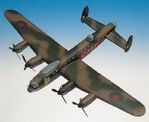 Lancaster MK. I Model Airplane