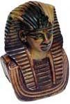 Cultured Marble King Tut Bust