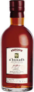 "Aberlour ""Abunadh"", Single Malt Scotch Whisky (Scotland) 750ml"