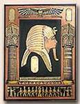 King Tut Plaque
