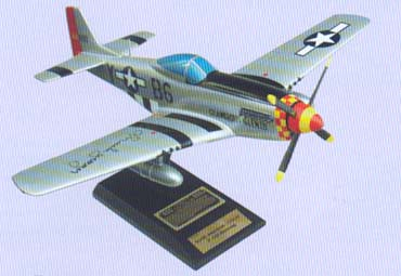 P-51D Mustang Glamorous Glen III Model Airplane