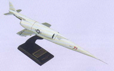 X-3 Stiletto Model Airplane