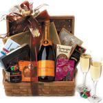 A Romantic New Year - Champagne Gift Basket