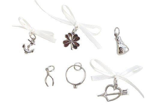 Wedding Cake Charms