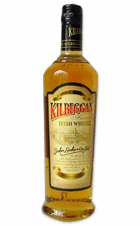 Kilbeggan Irish Whiskey 750 ml