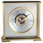 """AVIATOR WORLD TIME"" Clock"