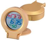 """GOLD RAINBOW"" Alarm Clock"
