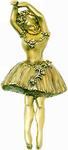 Degas inspired ballerina brooch
