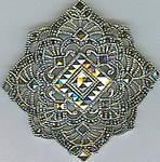 Marcasite brooch