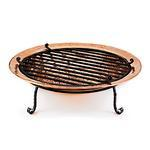 "medium copper fire pit 30""W x 8""H"