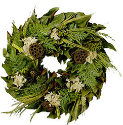 Bali Oasis Wreath - 18 inch