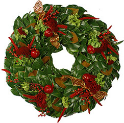 Apples & Berries Wreath - 36 Inch