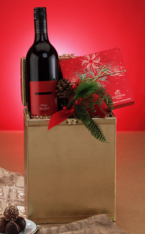 back to wine gift baskets