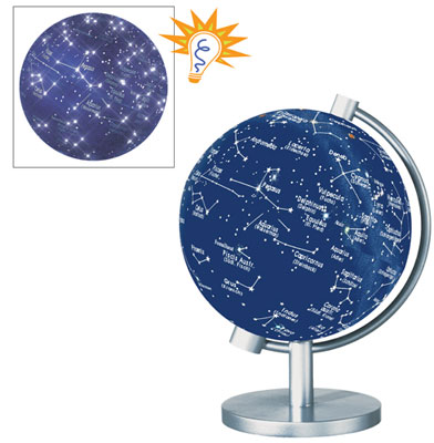 5'' Illuminated Stars and Constellations Globe