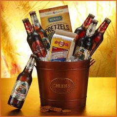 Beer N Cheer Gift Bucket