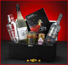 Cocktails Anyone Gift Basket