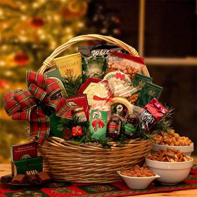 Holiday Celebrations Holiday Gift Basket - Lg