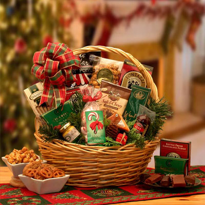 Holiday Celebrations Holiday Gift Basket - Sm