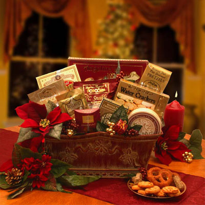 Bountiful Blessings Holiday Gift Basket