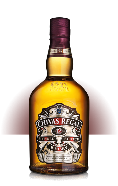 Chivas Regal Scotch 12 yr old, 375ml