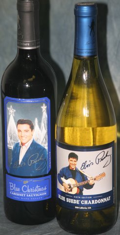 Elvis Presley Wine - 2 Bottles Combo